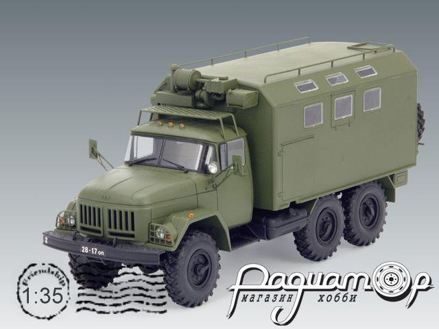 Сборная модель ЗиЛ-131 КШМ (1966) 35517