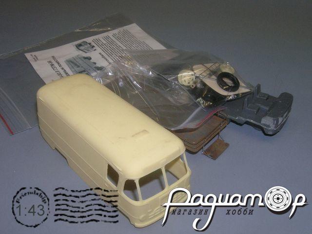 Сборная модель ГЗТМ-56 с багажным помостом (1956) K4-80.5