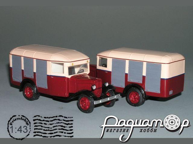 Сборная модель ГАЗ-03-33 продуктовый фургон (1935) K2-93