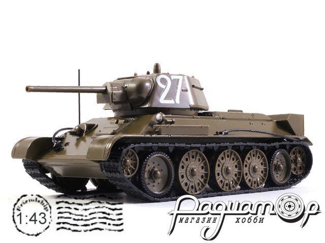 Танки - легенды отечественной бронетехники №1, Т-34-76 (1942) (z)
