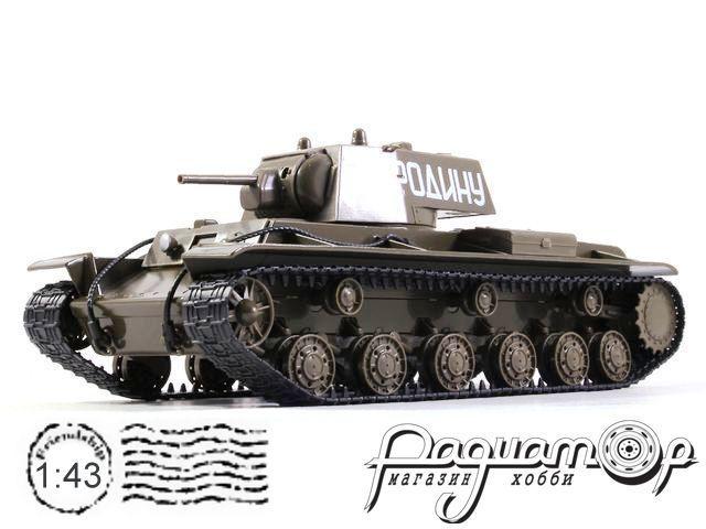 Танки - легенды отечественной бронетехники №3, КВ-1 (1940)