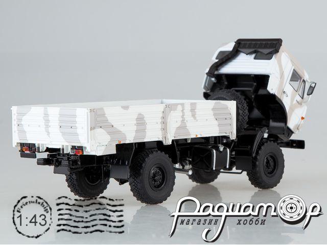 КАМАЗ-43502 Мустанг камуфляж Арктика (2000) SSM1302