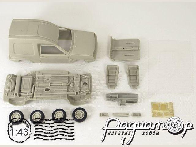 Сборная модель ВАЗ-1706 Челнок (2000) MM1046