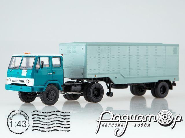 КАЗ-608В с полуприцепом ОДАЗ-794 (1976) SSM7047