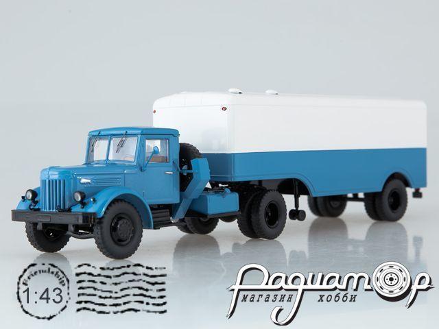 МАЗ-200В с полуприцепом МАЗ-5217 (1951) SSM7018
