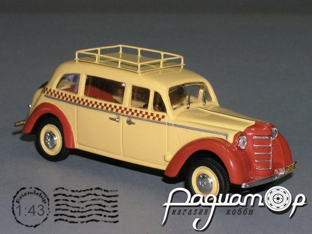 Москвич-400У Такси, с багажником (1946) PZ-47.1-Y