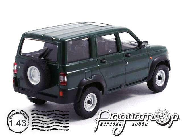 Автолегенды СССР и Соцстран №224, УАЗ-3162 «Симбир» (2000) зеленый