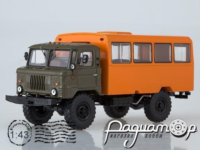 ГАЗ-66 Вахтовый автобус (1964) SSM1197