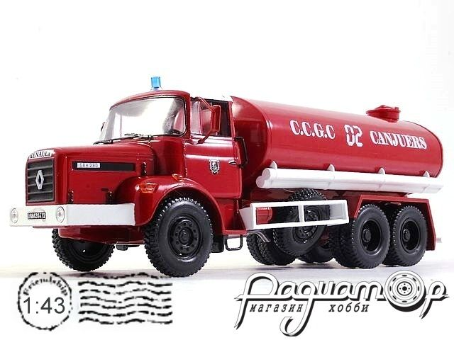 Renault Type GBH 280 6x6 CCGC de Canjuers Fire Department (1982) E004