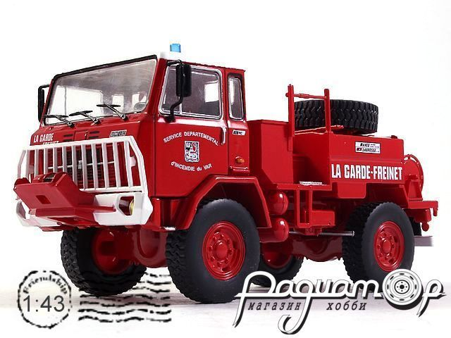 Iveco UNIC 75 PC La Garde-Freinet Fire Department (1974) E029