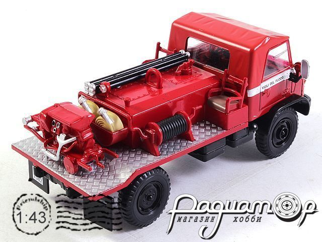 Mercedes-Benz Unimog 404 Fire Department (1975) E013