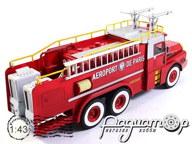 Willeme W8 6x6 Aeroport de Paris fire Department (1954) E022