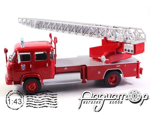 Saviem S7 Fire Truck with ladder (1964) E016