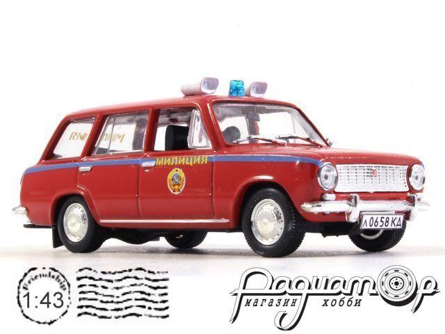 ВАЗ-2102 Милиция СССР (1972) 1658