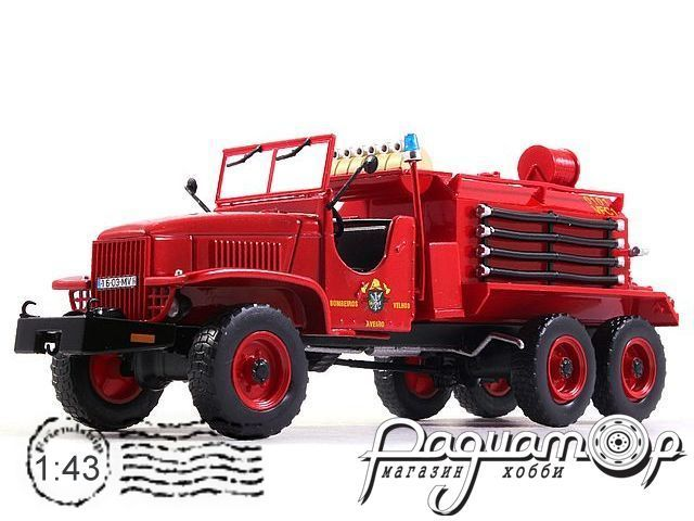 GMC CCF Fire Department Aveiro (1954) E015