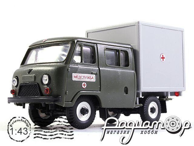 УАЗ-39094 Медслужба (1996) 11012
