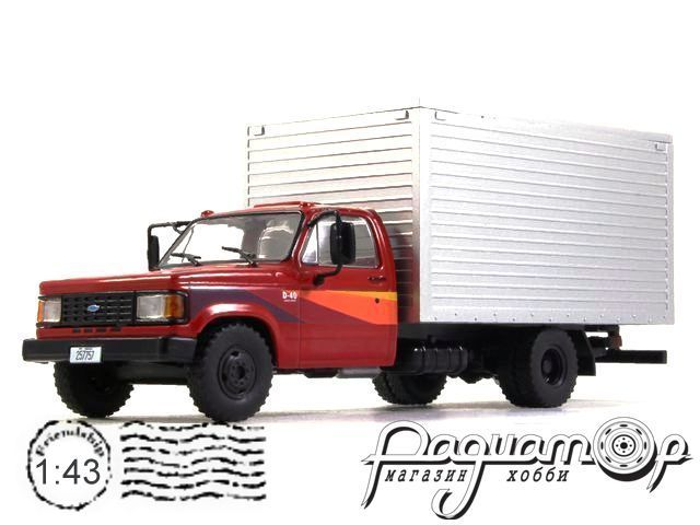 Chevrolet D-40 Box Truck (1985) WB267