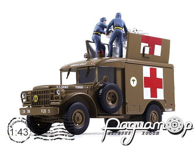 Dodge M-43 Ambulance
