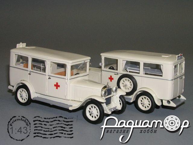 Mercedes-Benz L1000 Krankenwagen (1929) РX-05.1