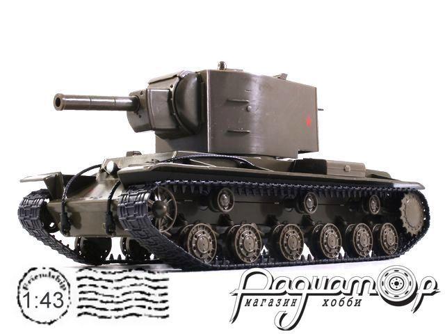 Танки - легенды отечественной бронетехники №5, КВ-2 (1940)