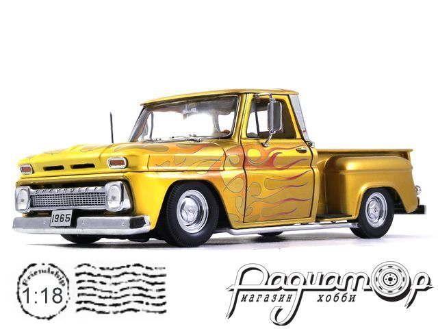 Chevrolet C-10 Stepside Pick Up Lowrider (1965) 1393