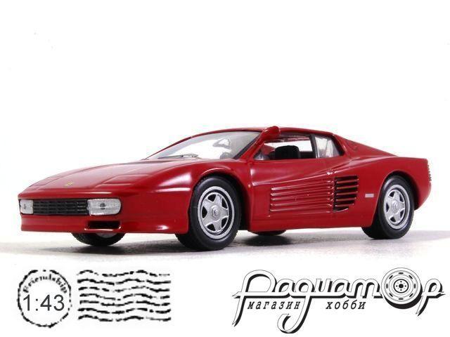 Коллекция Феррари №10 Ferrari Testarossa (1984)