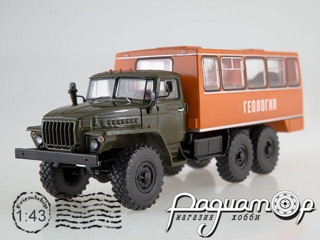 Вахтовый автобус НЕФАЗ-42112 (4320) (1977) SSM1223