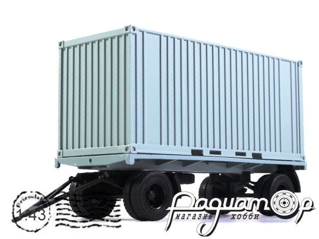 Прицеп ГКБ-8350 с контейнером (1975) 102040