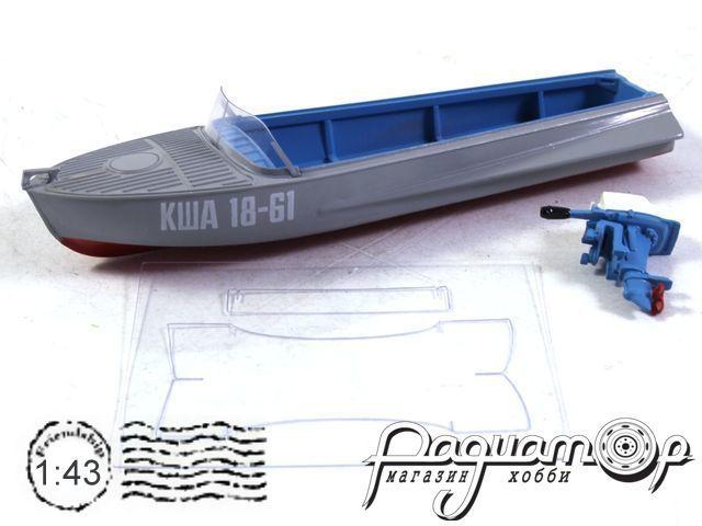 Лодка Казанка-М с ПЛМ Вихрь-23Р (с подставкой) (1955) 0002MP