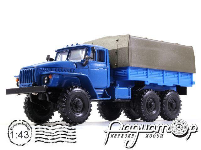 УРАЛ-4320 с тентом (1977) 2021-3
