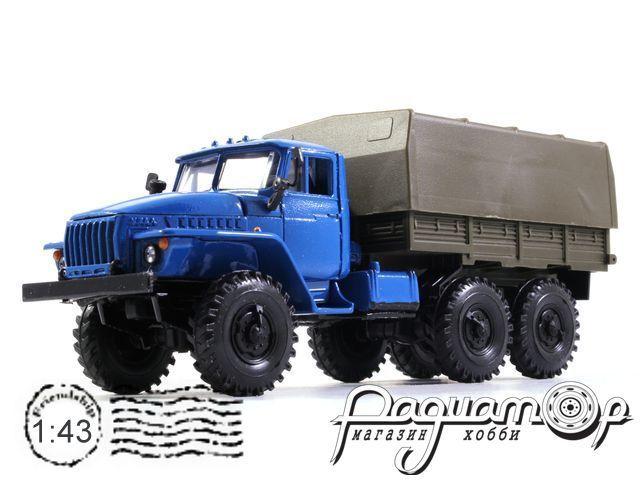 УРАЛ-4320 с тентом (1977) 2021-4