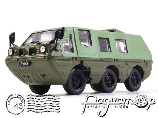 Автолегенды СССР и Соцстран №227, ЛуАЗ-1901 «Геолог» (1982)