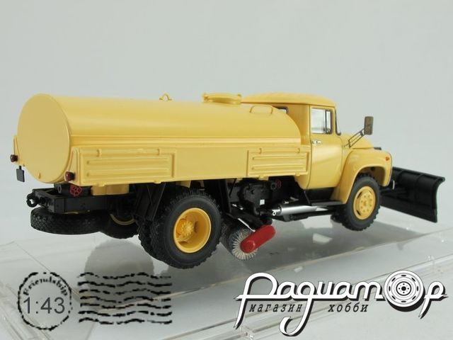 ЗиЛ ПМ-130Б Автомобиль Поливомоечный, «Автоэкспорт» (1977) 113007