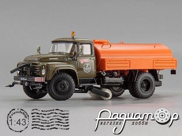 ЗиЛ ПМ-130Б Автомобиль Поливомоечный, г. Москва (1978) 113008