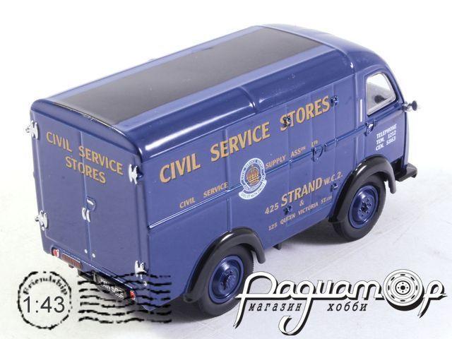 Austin ThreeWay Van, Civil Service Stores (1951) 43AK017