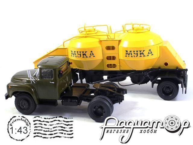 ЗИЛ-130В1 с полуприцепом-муковозом К4-АМГ (1976) 102132