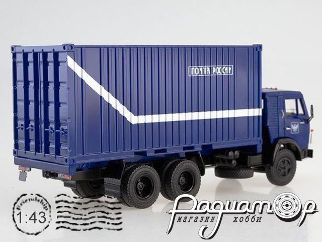 КамАЗ-53212 с 20-футовым контейнером, Почта России (1978) SSM1282