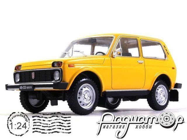 Легендарные советские автомобили №5, ВАЗ-2121 «Нива» (1981)