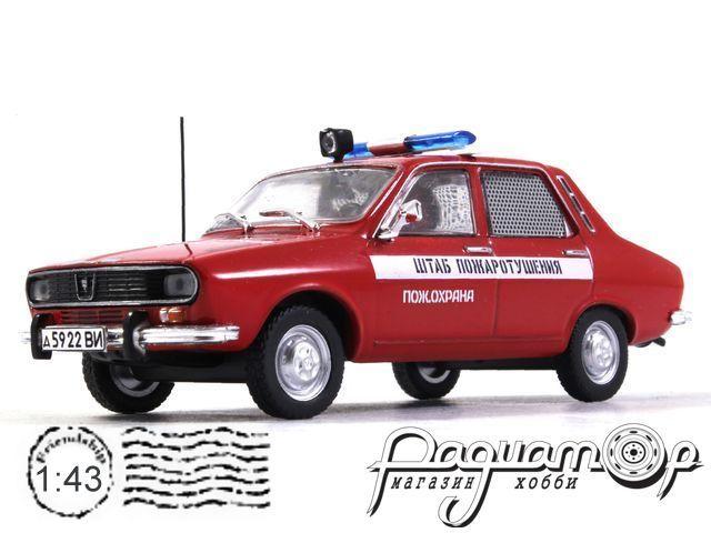 Dacia 1300 Пожарная Охрана (1969) конверсия