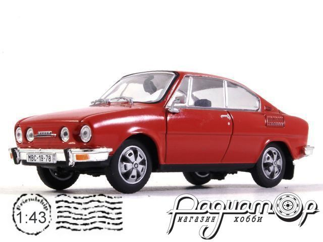 Skoda 110R Coupe (1980) 143ABS-707BX