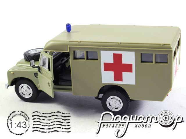 Land Rover Series III 109 Ambulance (1983) 251XND10