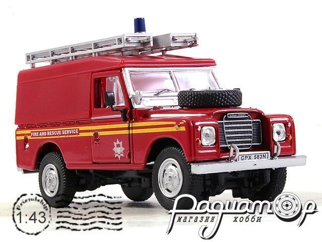 Land Rover Series III 109 Fire Department (1983) 251XND11