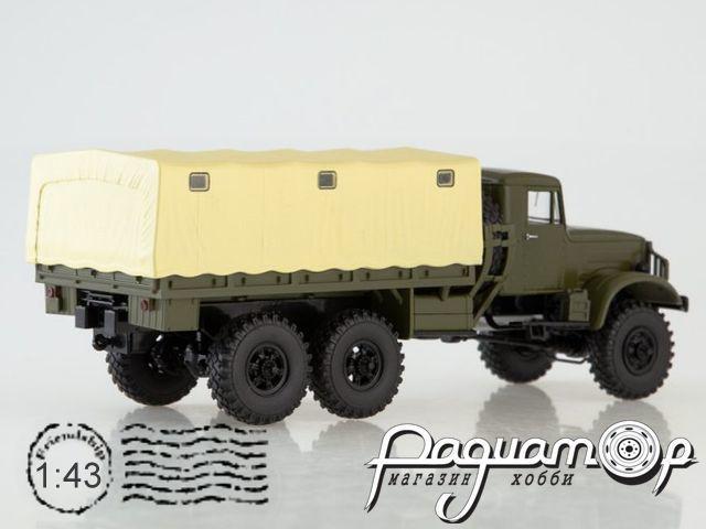 КРАЗ-214 бортовой с тентом (1957) SSM1321