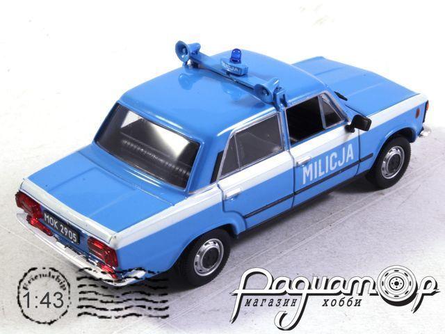 Kultowe Auta PRL-u Spec-Wydanie, Polski Fiat 125P Milicja Police (1967)
