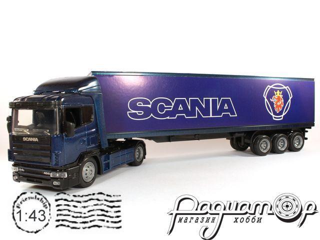 Scania R124/400 с полуприцепом (1995) 15513