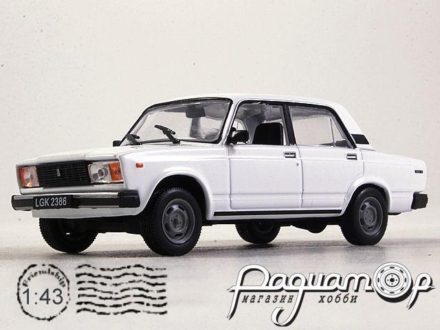 Kultowe Auta PRL-u №163, ВАЗ-2105 «Жигули» (1979)