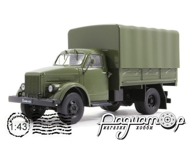 Kultowe Auta PRL-u №137, Lublin-51 (ГАЗ-51) (1951)