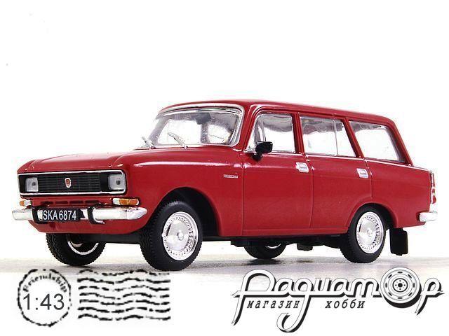 Kultowe Auta PRL-u №187, Москвич-2137 (1976)