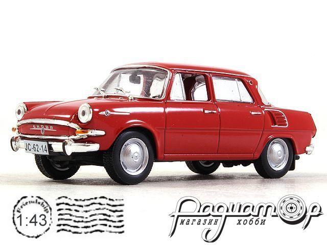 Kultowe Auta PRL-u №158, Skoda 1000MB (1964)