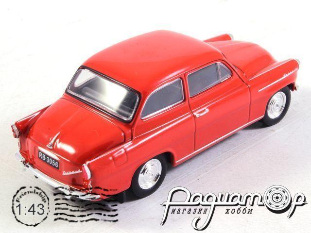 Kultowe Auta PRL-u №164, Skoda Octavia (1959)